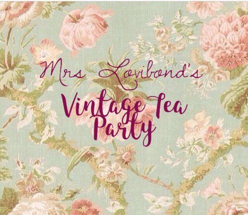 Mrs Lovibond's Vintage Tea Party