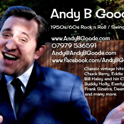 Andy B Goode (1950s/60s Rock n Roll / Swing Singer)