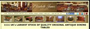 LARGEST STOCK OF ORIGINAL ANTIQUE DINING TABLES AND SETS OF DINING CHAIRS IN THE UK