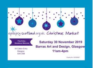 Christmas Market – Epilepsy Scotland 2019