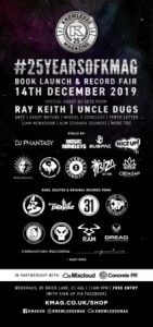 25 Years of Kmag Book Launch + Record Fair (Free Entry)