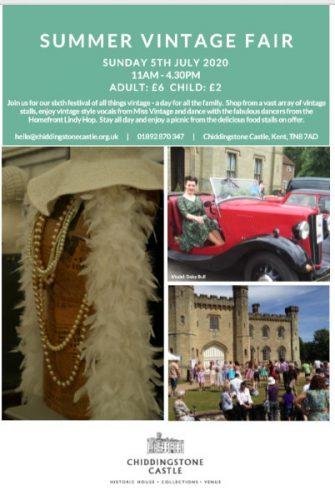 Chiddingstone Castle Summer Vintage Fair