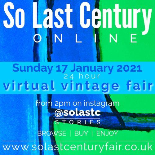 So Last Century Virtual Vintage Fair