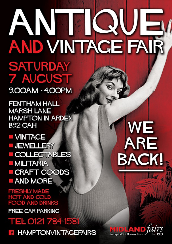 Midlands Antique Retro and Vintage fair